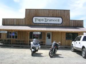 Papa Brunee's in Stanley, ID