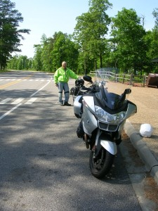 At the top of mountain: Ozarks Ride