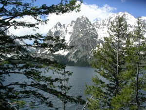 "Jenny Lake named for the Shoshone wife of trapper and guide ""Beaver Dick Leigh"