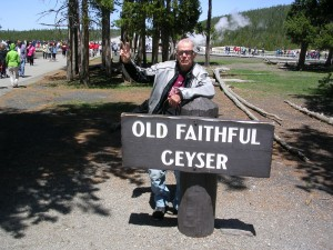 Paco at the Geyser