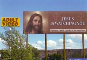 Jesus is Watching You!