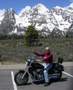 """Paco"" and the Grand Tetons"