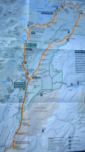 Route Map: Grant Tetons Ride