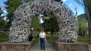 Under the Antler Arch