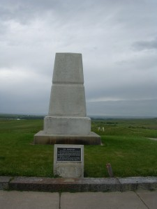 Monument to the 7th Cavalry--Mass Burial Site