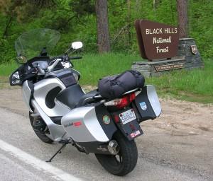 Black Hill National Forest Sign