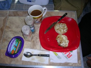 Typical Badger Breakfast