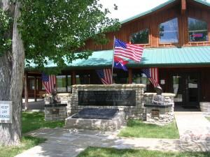 Unknown Soldier Memorial in Garryowen, MT