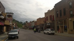 Another view of Main Street in Deadwood