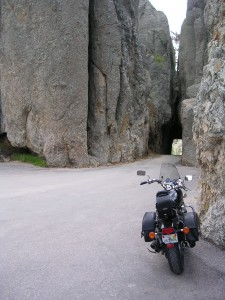Narrow Tunnel on the Needles Hwy.