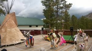 Native American Dancers at Crazy Horse Memorial
