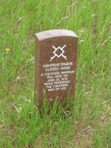 Native American Warrior Marker