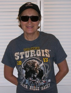 Rosa, ready for Sturgis?