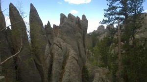 Spires on the Needles Hwy.