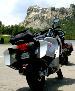 The Badger Bikes at Mt. Rushmore