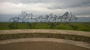 """""""Peace Through Unity,"""" American Indian Memorial Honoring Tribes that Fought in the Battle"""