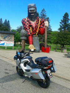 Giant Paul Bunyan, Akeley, MN