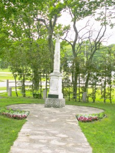 Fr. Marquette's Grave, St. Ignace, MI
