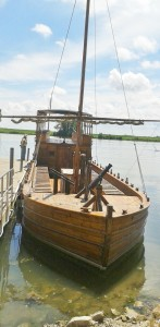 Replica of Lewis and Clark Keelboat