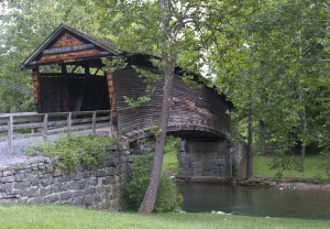 Humpbacked Covered Bridge, Callaghan, VA (Photo courtesy of Falls Church photographer, Brendan Reals http://fineartamerica.com/profiles/brendan-reals.html)