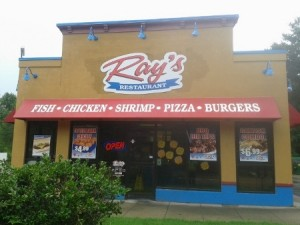Ray's in Washington Park, IL, where everything is fried