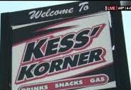 Kess' Korner Sign
